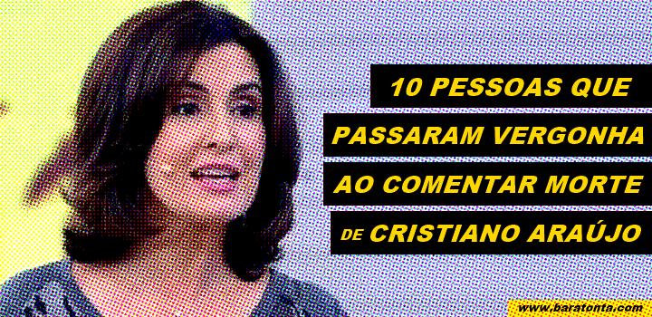 10 pessoas que passaram vergonha ao comentar a morte de Cristiano Araújo