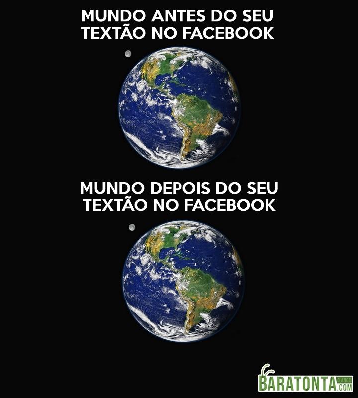 O mundo depois do seu textão no facebook