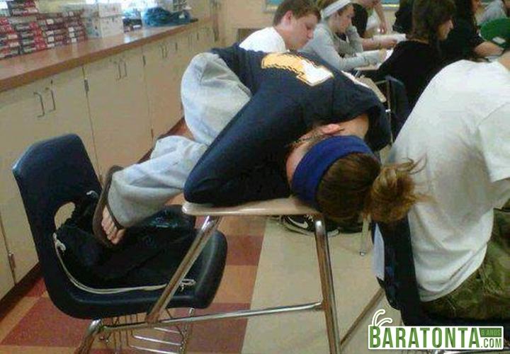 Quando começa aquela aula chata
