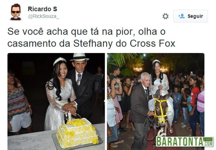 Os 8 melhores comentários e reações das pessoas ao ver o casamento da Stefhany Absoluta com idoso