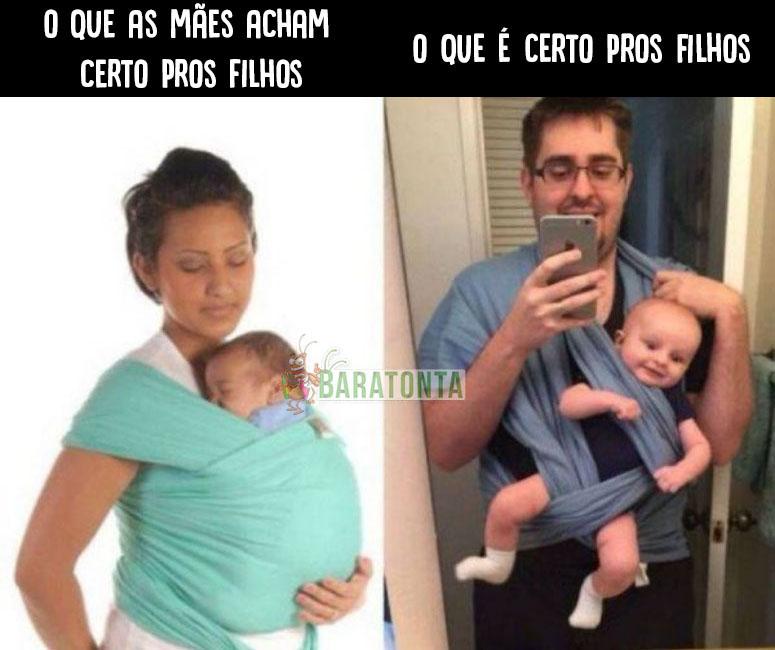 Mães VS Pais