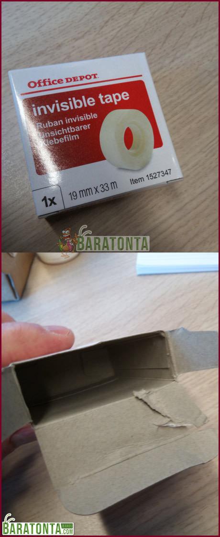 Embalagem falsa