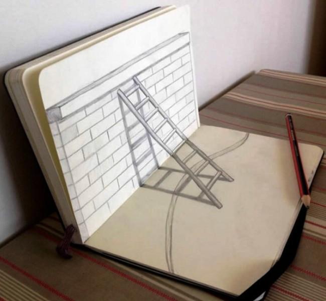 Coletânea de desenhos 3D