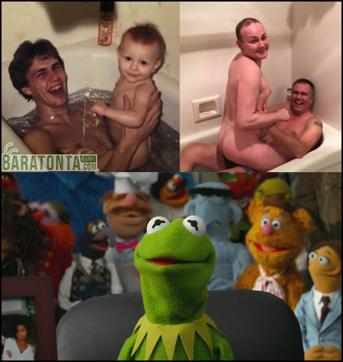 Aquela foto de família era melhor desver