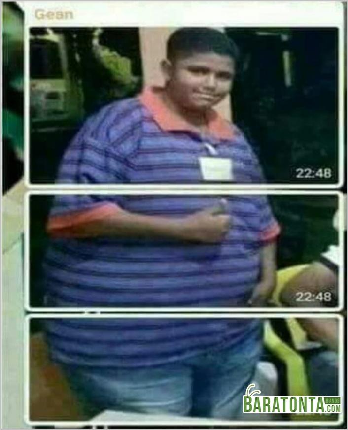 Quando a pessoa é muito gorda